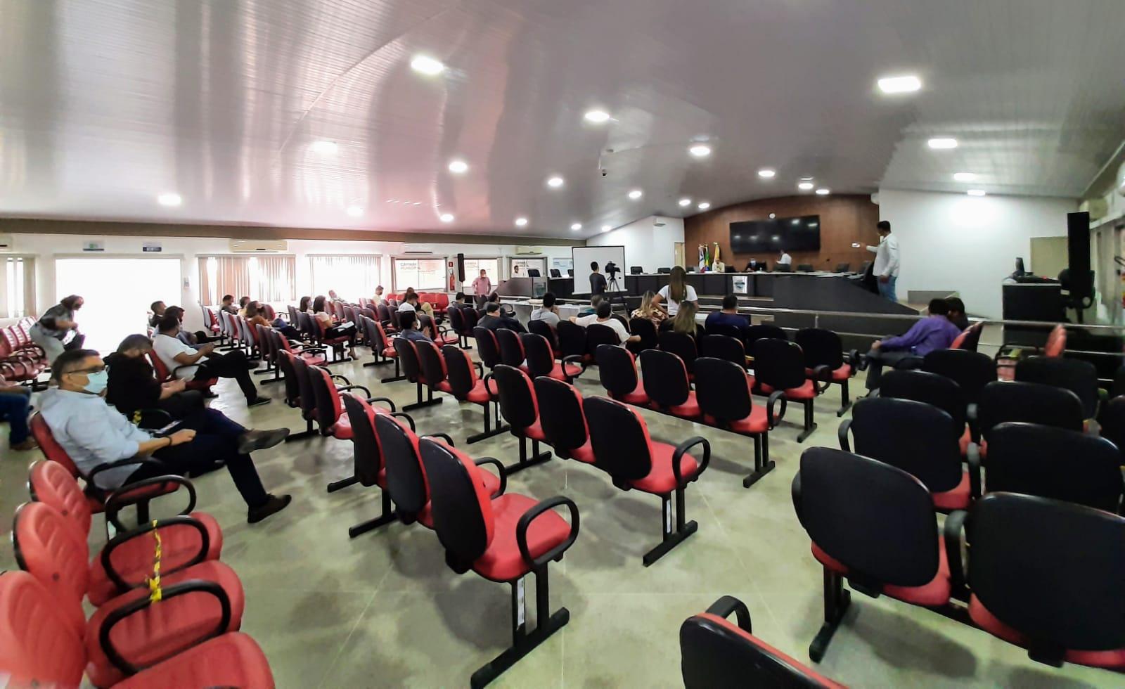 Sessão ordinária da Câmara de Eunápolis será antecipada para 02 de junho 18
