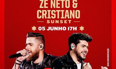Zé Neto & Cristiano apresentam show virtual neste sábado (05) 21