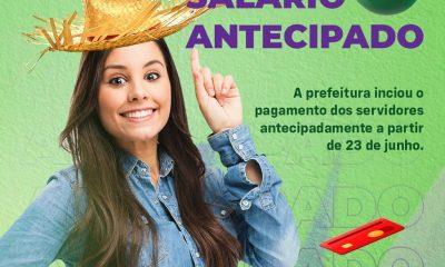 Eunápolis: Servidores municipais passam o São João com dinheiro na conta 43