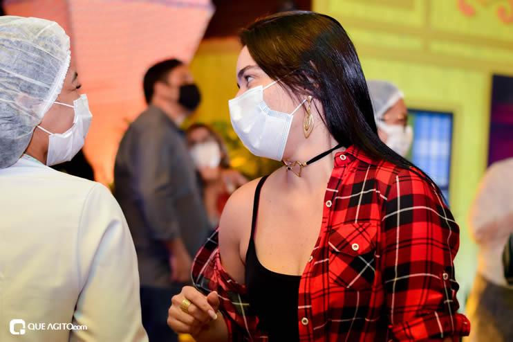 Prefeita Cordélia anuncia durante coletiva de imprensa, a Live São João se Encontra com Pedrão em Eunápolis 101