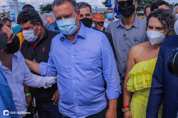 Eunápolis: Prefeita Cordélia Torres recepciona governador da Bahia em inauguração da Policlínica Regional 24
