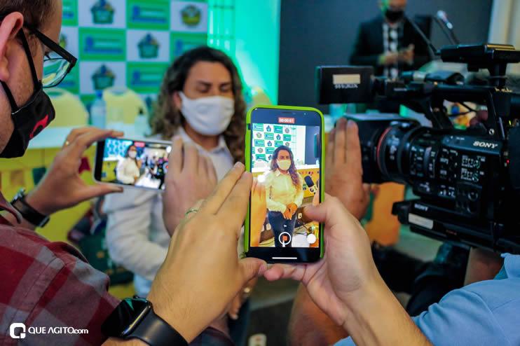 Prefeita Cordélia anuncia durante coletiva de imprensa, a Live São João se Encontra com Pedrão em Eunápolis 116