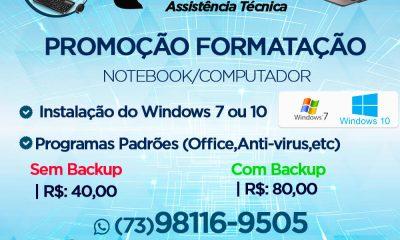 PROMOÇÃO FORMATAÇÃO DE COMPUTADORES E NOTEBOOKS – TECCEL INFORMÁTICA 36