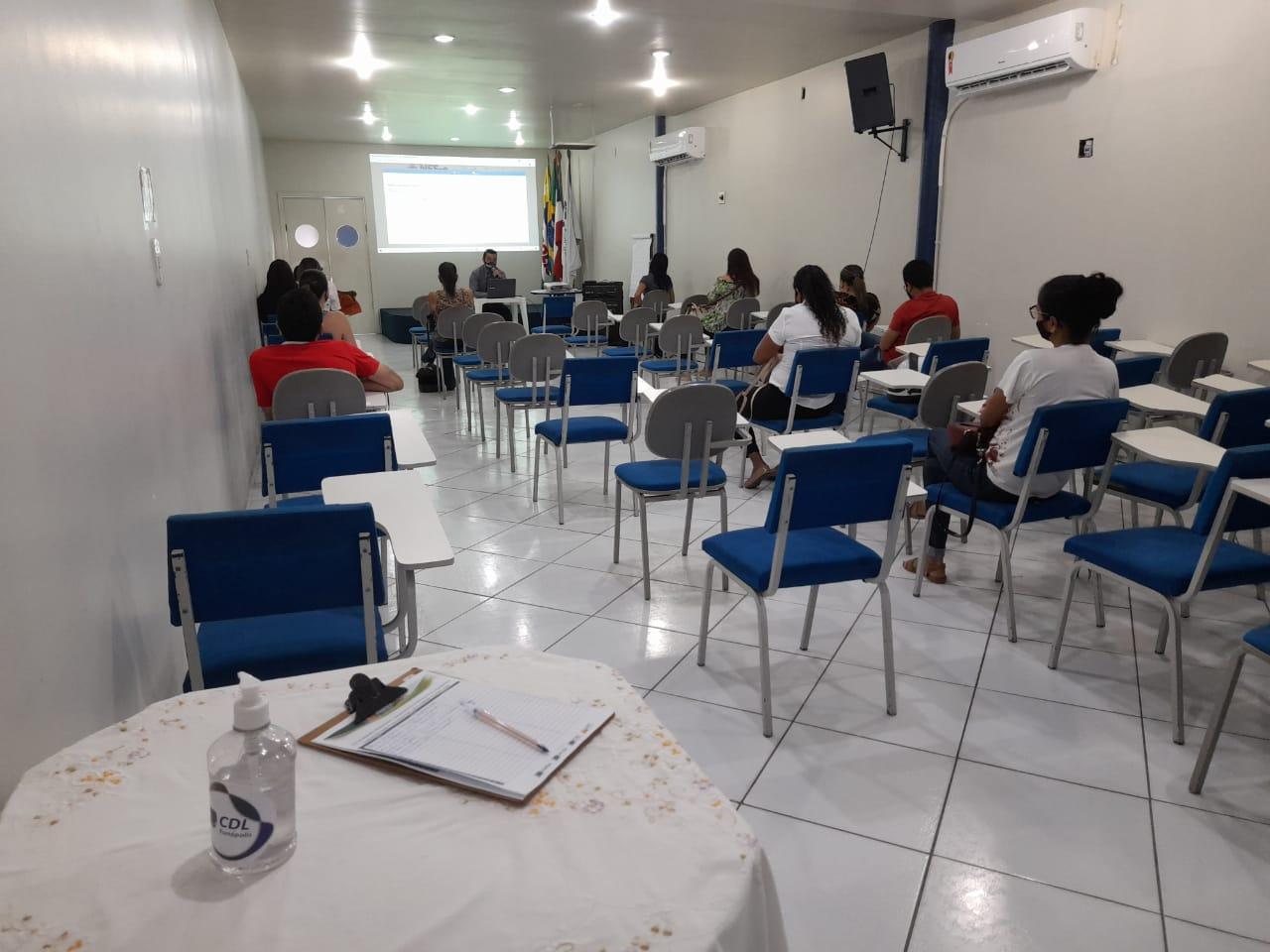 Teve início nessa terça, em Eunápolis, o treinamento do novo sistema de emissão de nota fiscal 20