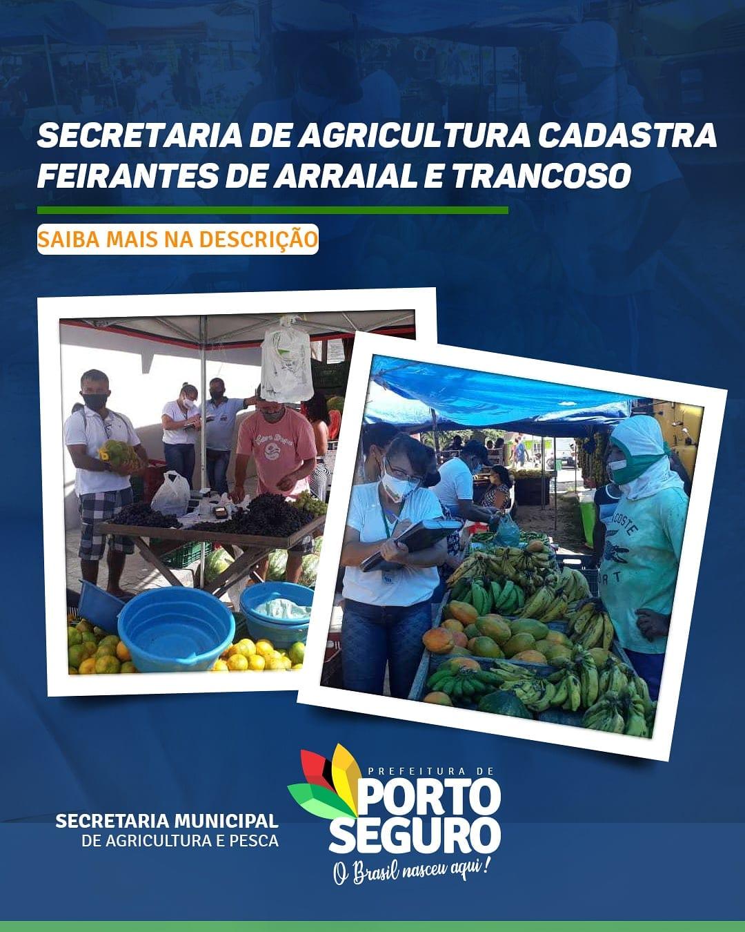 Secretaria de Agricultura cadastra Feirantes de Arraial d´Ajuda e Trancoso 18