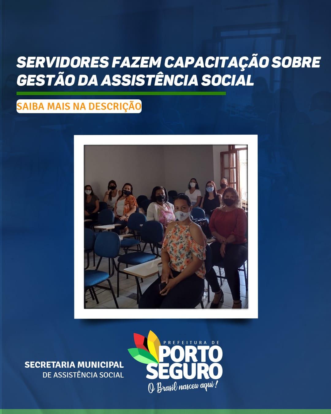 Servidores fazem capacitação sobre gestão da assistência social 18