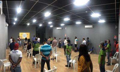 Servidores da Secretaria de Esportes de Eunápolis são preparados para inclusão da comunidade com deficiência auditiva 45