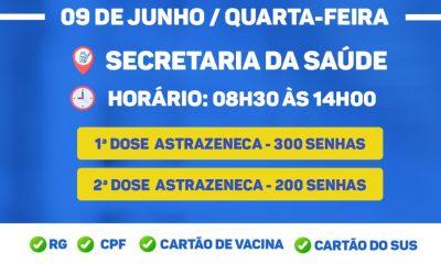 Porto Seguro: VACINAÇÃO CONTRA A COVID-19 - 58 anos ou mais e Comorbidades na faixa etária de 18 anos ou mais. 51