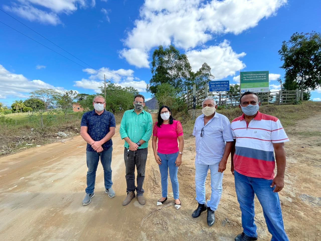 Guaratinga: Recuperação das estradas da zona rural começará por São João do Sul 20