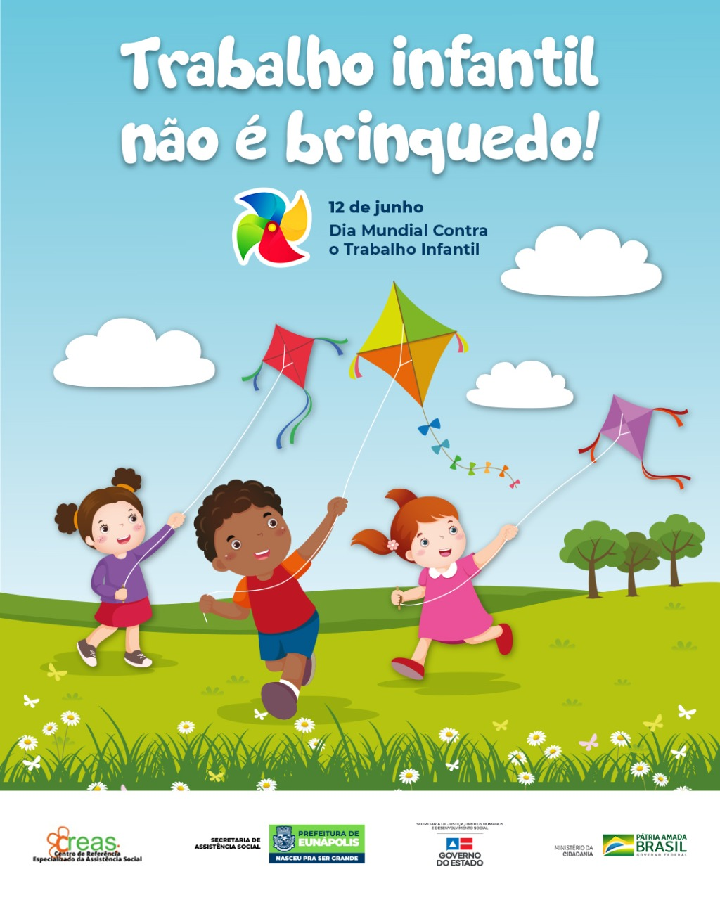 Prefeitura de Eunápolis realiza campanha de combate ao trabalho infantil 18