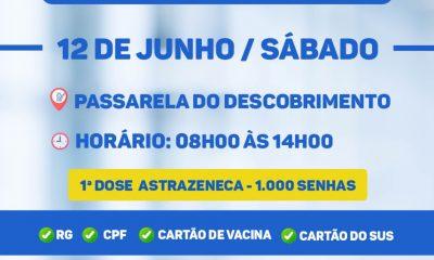 VACINAÇÃO CONTRA A COVID-19 - 56 anos - Terra Mãe do Brasil Vacinada 16