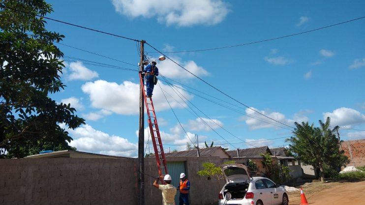 Zona rural de Eunápolis recebe manutenção em iluminação pública 21