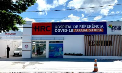 Preparativos finais para a inauguração do Hospital Referência Covid-19 104