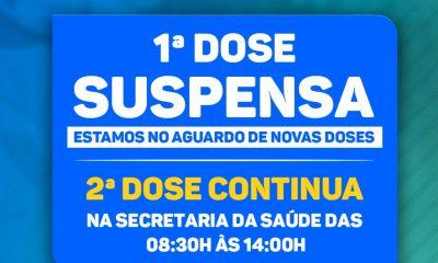 PORTO SEGURO AGUARDA NOVAS DOSES PARA DAR SEQUÊNCIA À VACINAÇÃO CONTRA A COVID-19 85