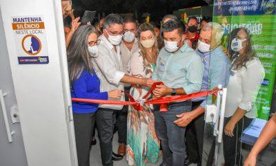 Inauguração do Hospital de Referência COVID-19 48