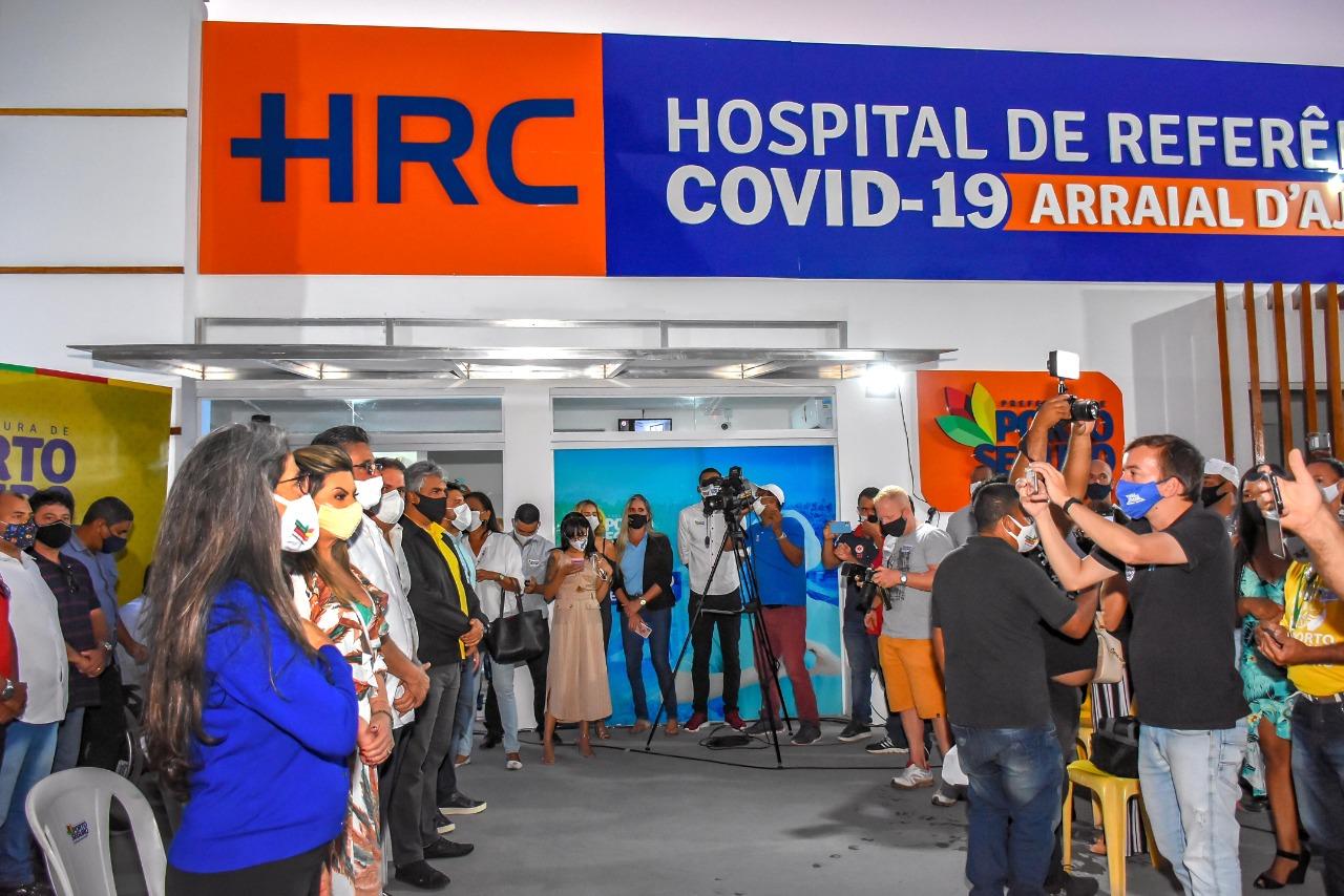 Inauguração do Hospital de Referência COVID-19 22