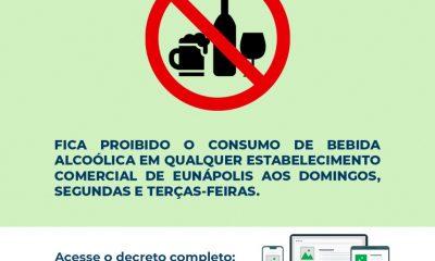 Prefeitura de Eunápolis publica decreto municipal com novas medidas restritivas 90