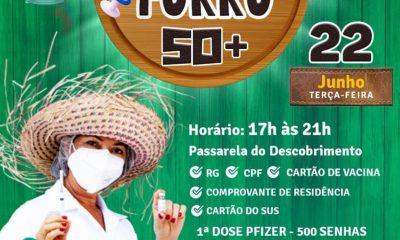 Porto Seguro: VACINA COM FORRÓ 50 ANOS OU MAIS! 16