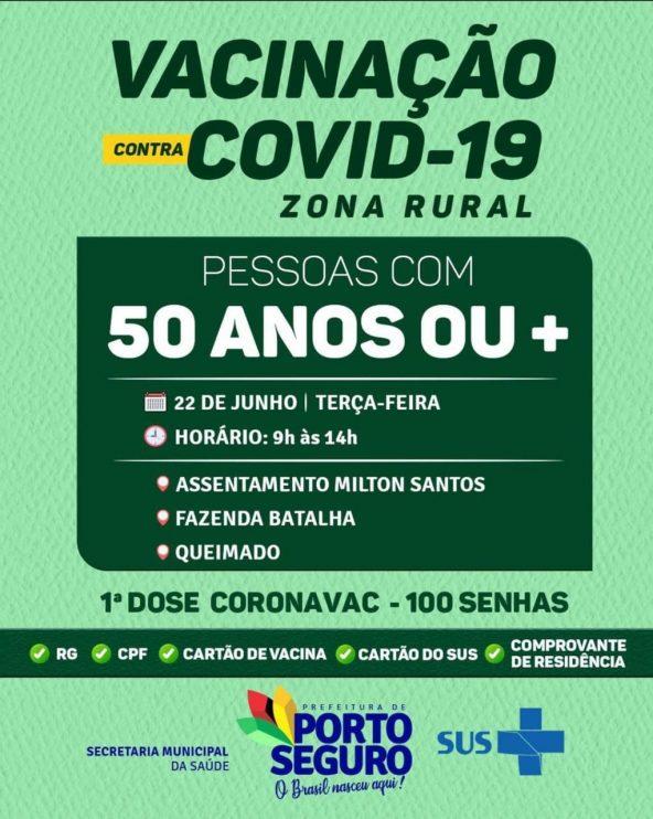 Porto Seguro: VACINA COM FORRÓ 50 ANOS OU MAIS! 21