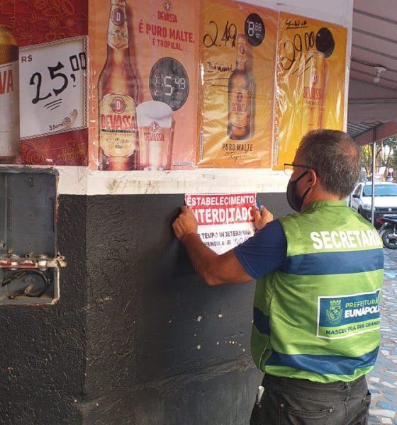 Vigilância Sanitária teve final de semana intenso em Eunápolis 22