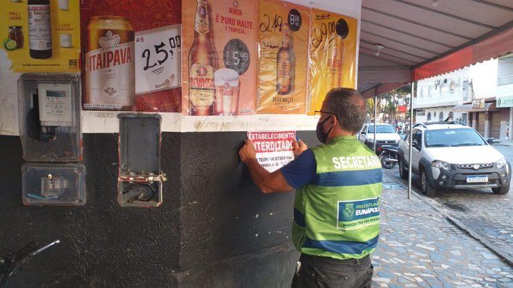 Vigilância Sanitária teve final de semana intenso em Eunápolis 25