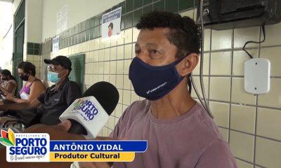 A Terra Mãe do Brasil vem avançando cada vez mais na cobertura vacinal levando as doses da esperança para diversos distritos do município. 29
