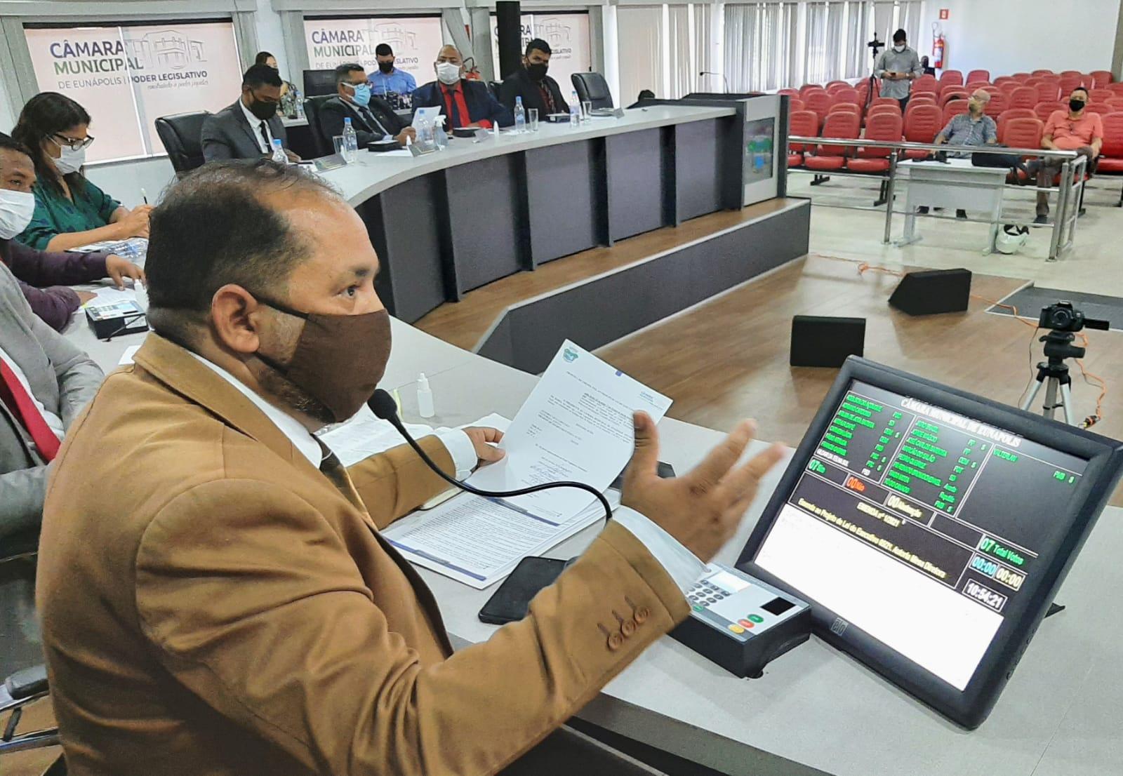 Eunápolis: Câmara aprova criação do Conselho de Acompanhamento do novo Fundeb 20