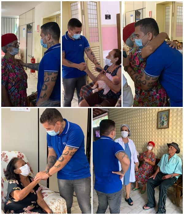 Vereador Galeguinho Spa doa salário para Casa de Amparo ao Idoso e à Criança com Câncer 17