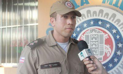Capitão Lago volta a comandar a Polícia Militar em Belmonte. 39