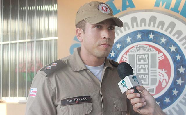Capitão Lago volta a comandar a Polícia Militar em Belmonte. 18