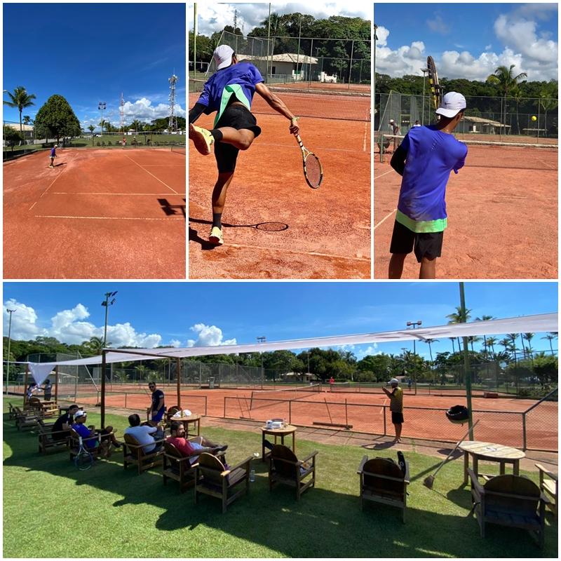 Porto Seguro Eco Bahia Hotel ganha nova academia de tênis 21