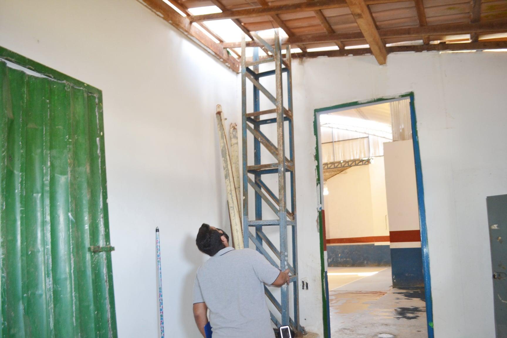 Ginásio de Guaratinga é interditado por corrosão na estrutura metálica 29