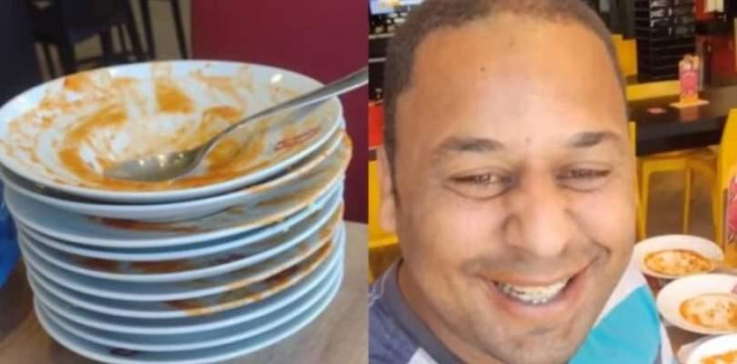Homem é expulso de rodízio por comer 15 pratos 18