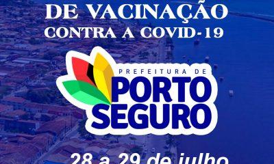 Vacina Porto Seguro contra Covid-19; cronograma de vacinação de 28 a 29 de julho 74