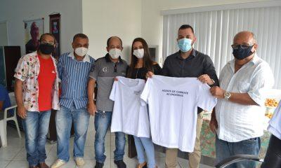 Agentes de endemias de Guaratinga recebem novos uniformes e equipamentos da prefeitura 46