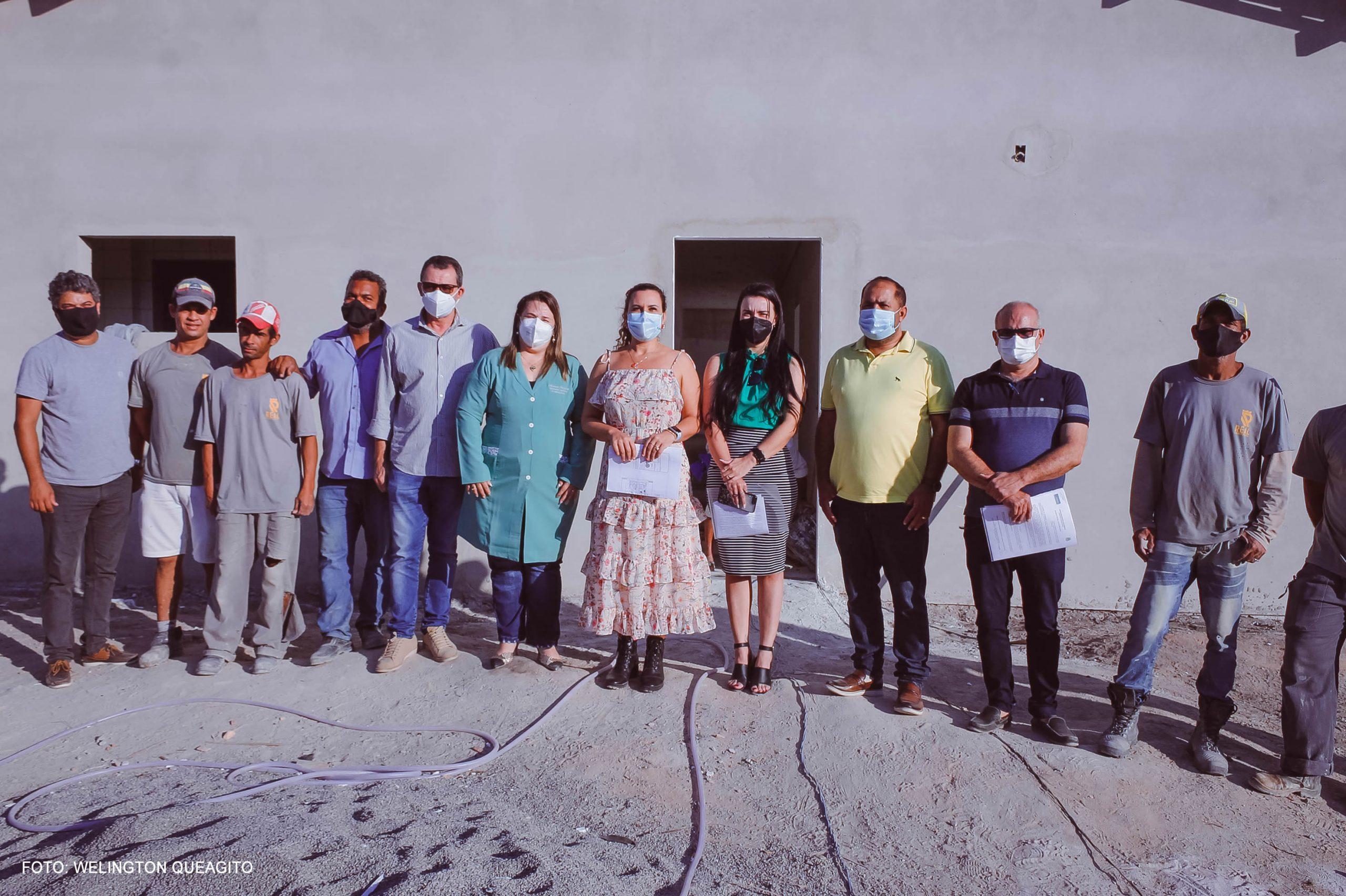 Prefeita Cordélia realiza vistoria técnica nas obras da futura Casa de Parto 22