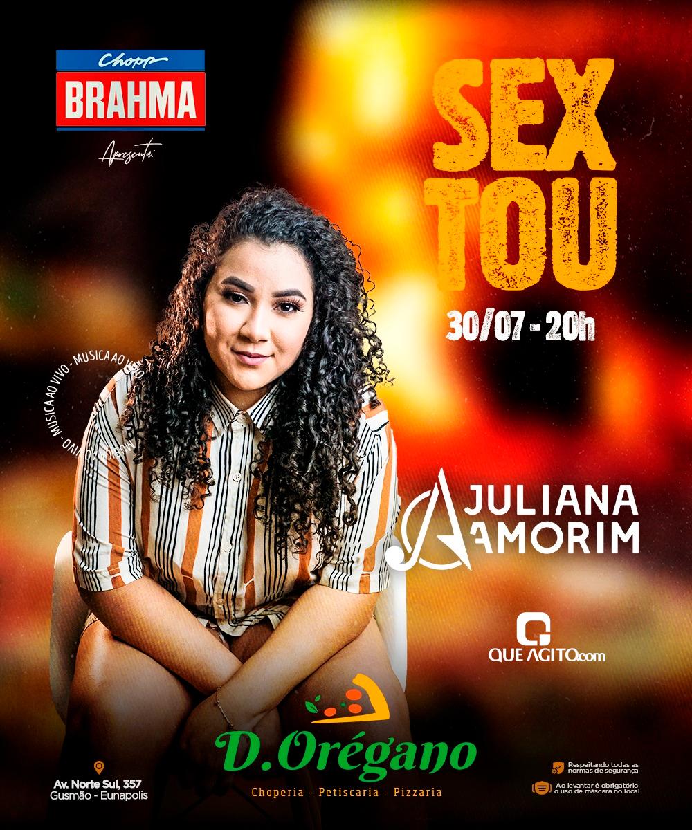 [SEXTA] Juliana Amorim na D'Orégano - Eunápolis-BA 16