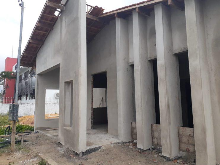 O Centro de Parto Normal de Eunápolis (CPN) está com 50 % da obra concluída 22