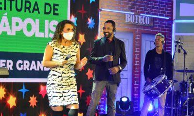 """Adelmário Coelho e Roni Brasil fecham com chave de ouro a última noite da live """"São João se Encontra com Pedrão em Eunápolis"""" 51"""