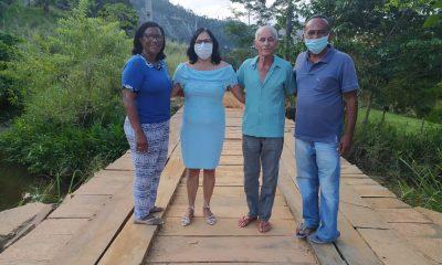 Infraestrutura entrega mais três pontes de madeira no interior de Guaratinga 66