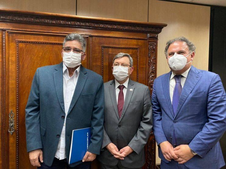 Em Brasília, prefeito Jânio Natal se reúne com ministros, Tarcísio Freitas 24