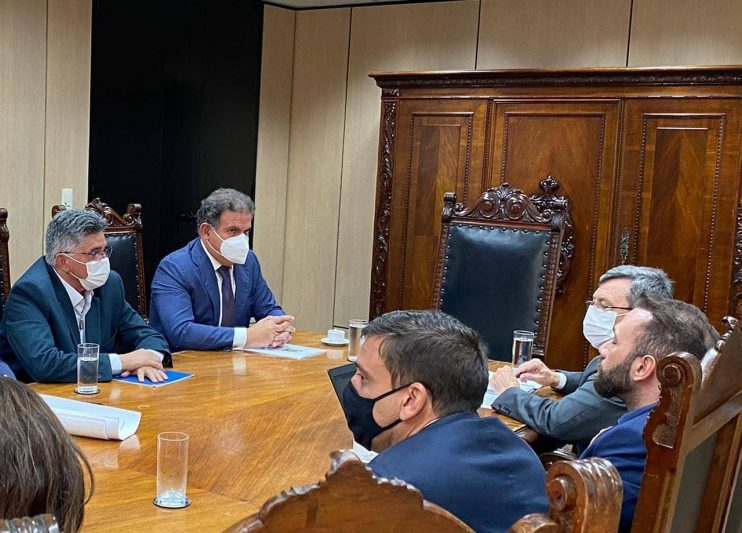 Em Brasília, prefeito Jânio Natal se reúne com ministros, Tarcísio Freitas 26