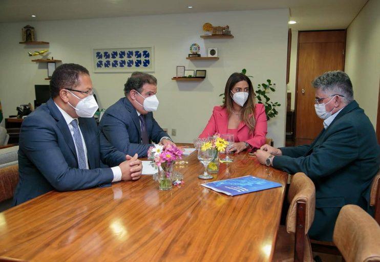 Em Brasília, prefeito Jânio Natal se reúne com ministros, Tarcísio Freitas 25