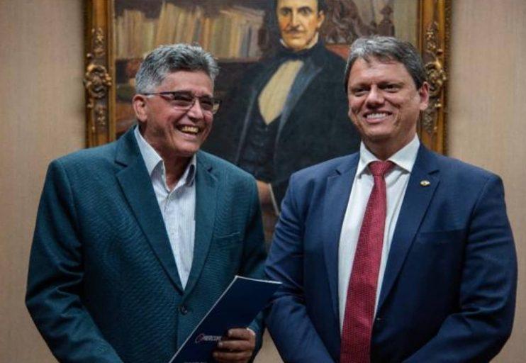 Em Brasília, prefeito Jânio Natal se reúne com ministros, Tarcísio Freitas 27