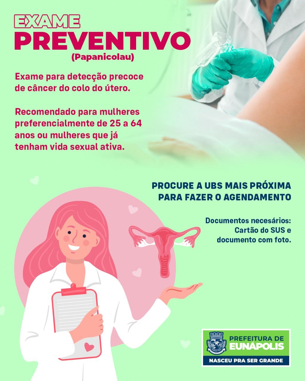 Prefeitura de Eunápolis oferta exame preventivo gratuito após dois anos de paralisação do serviço 18