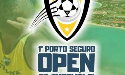 A Terra Mãe do Brasil, promove de hoje até domingo, o 1 ° Porto Seguro Open de Futevolei. 25