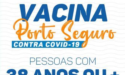 Vacina Porto Seguro contra Covid-19; cronograma de vacinação de 19 a 20 de julho 53