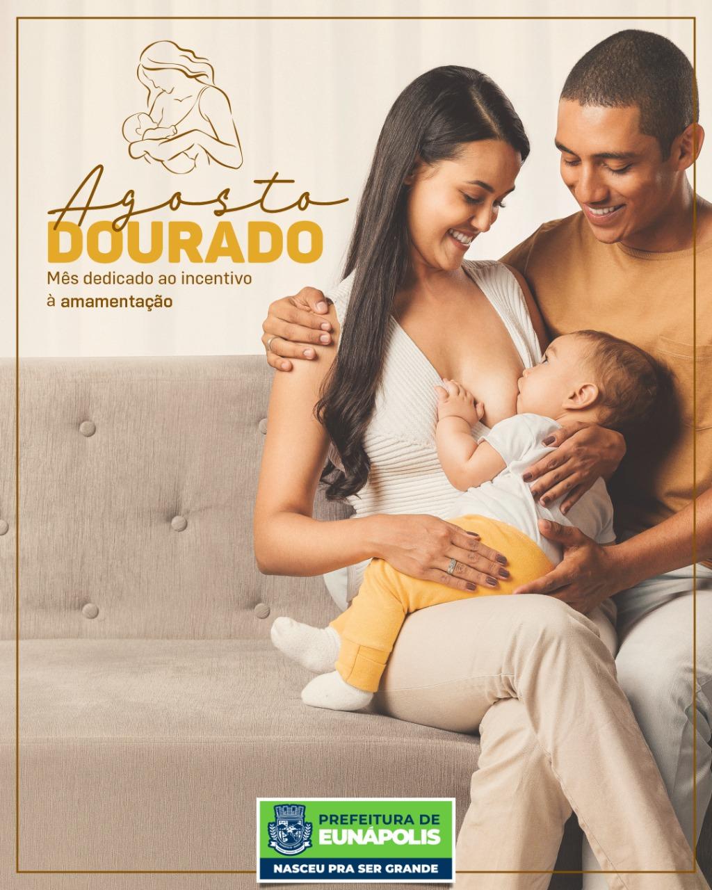 """""""Agosto Dourado"""" reforça a importância do aleitamento materno em Eunápolis 18"""