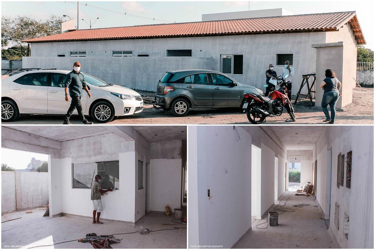 Prefeita Cordélia realiza vistoria técnica nas obras da futura Casa de Parto 20