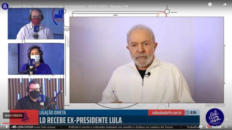 Contra voto impresso, Lula diz que eleição roubada foi a de Bolsonaro 18